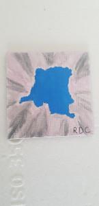 Magnet Carte Congo-Rdc