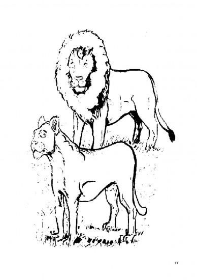 Je colorie les animaux sauvages du Congo-RDC en Lingala-Français