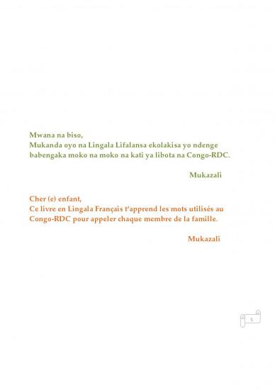 Ma famille en Lingala-Français