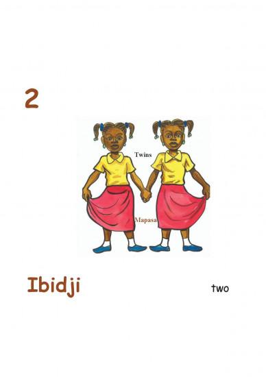 Numbers and human body in Tshiluba-English